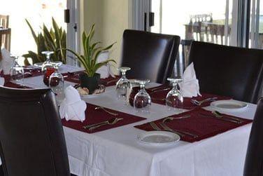 Le Reefside Restaurant & Bar propose des spécialités typiquement bahaméennes faites maison