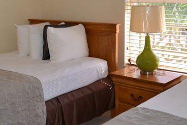 Les chambres simples et confortables...
