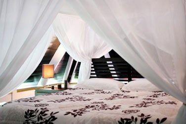 Un véritable cadre confortable et relaxant...