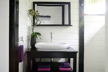 La salle de bain 'zen'