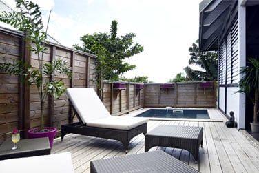 Profitez de votre piscine privative en toute intimité