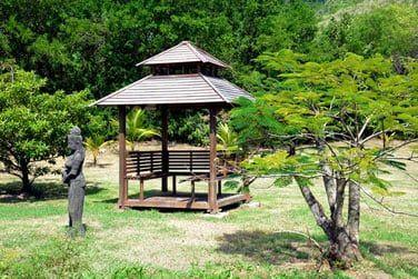 Une atmosphère très 'zen' se dégage de ce décor authentique...