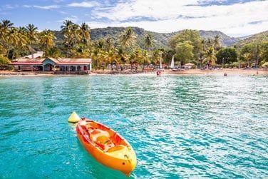 Explorez le lagon à bord de votre kayak..