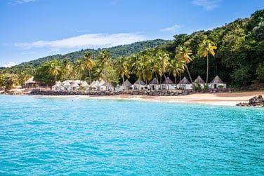au bord de la mer des Caraïbes, bienvenue au Langley Resort Fort Royal !