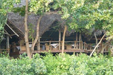 Le restaurant au cœur de la nature