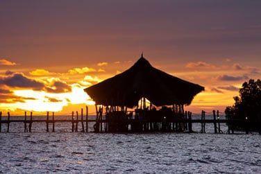 Où vous pourrez admirer de superbes couchers de soleil à l'horizon...