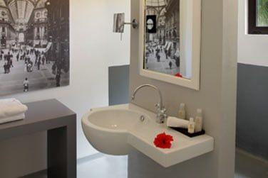 La salle de bain, moderne et élégante