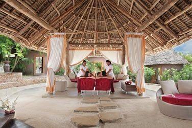 Le spa de l'hôtel inspiré des soins bien-être balinais