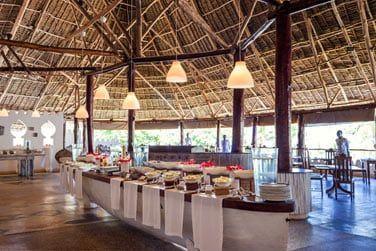 Le restaurant vous propose une cuisine locale et internationale