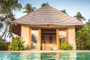 Beachfront One-bedroom villa