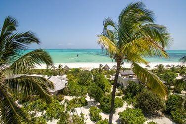 L'hôtel est niché au coeur d'un vaste jardin tropical
