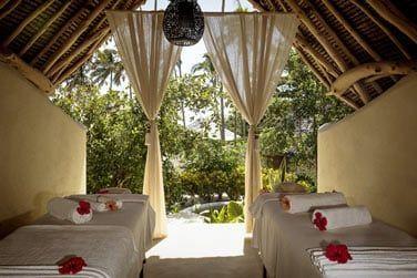 Détendez-vous au spa de l'hôtel situé au coeur de la végétation tropicale luxuriante