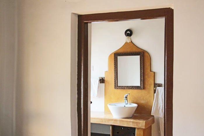 chambre double (avec salle de bain privée)