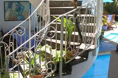 Son architecture créole typique est splendide et très bien entretenue