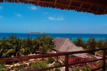 La vue panoramique sur la mer depuis votre balcon...