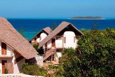 Un petite lodge intimiste situé face à l'île de Mnemba