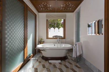 Salle de bain de la Suite Zanzibar