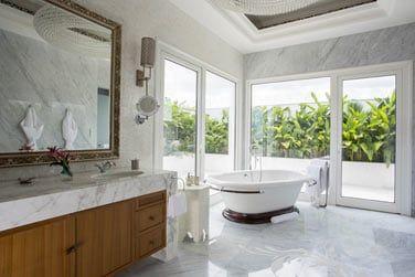 Salle de bain de la Suite Pésidentielle Zamani