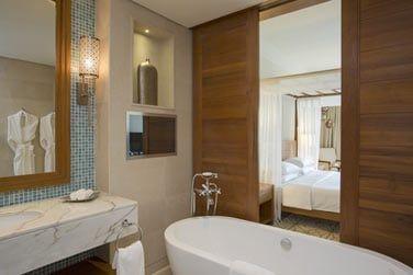 La salle de bain de la chambre Park Deluxe