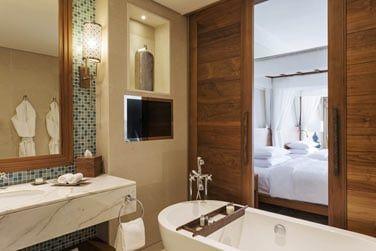 Salle de bain de la chambre Park View