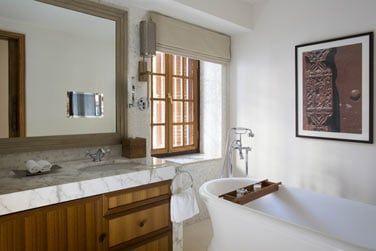 Salle de bain de la Suite Park