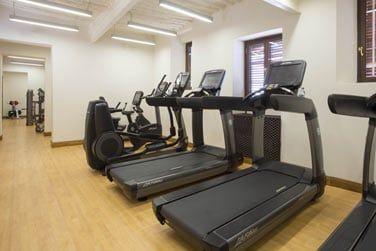 La salle de fitness, pour rester en forme même pendant les vacances