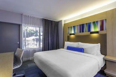 Les chambres sont tout aussi tendances et confortables