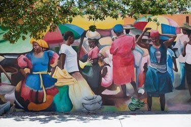 Une ville où l'art de rue est roi !