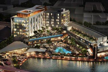 Vous séjournerez au Aloft South Beach 3*