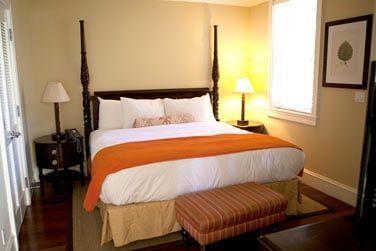La chambre et sa déco d'inspiration coloniale