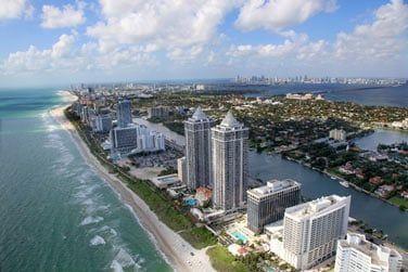 1ère étape : Miami !