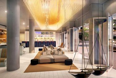 Un hôtel à la déco très design