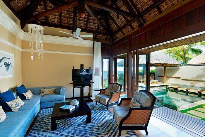 villa beachfront 2 chambres (piscine)