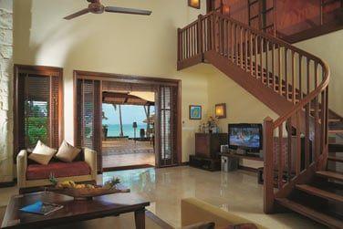 La villa se compose de 2 étages