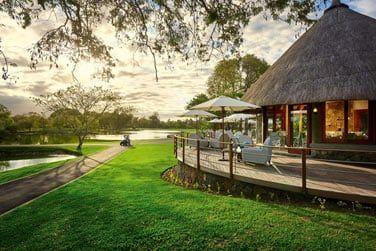 Restaurant Deer Hunter, situé au pavillon du parcours de golf du Legend