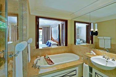 Salle de bain de la villa