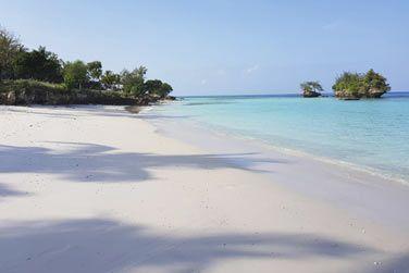 Situé sur l'île de Pemba, l'hôtel est bordé par une très belle plage de sable blanc