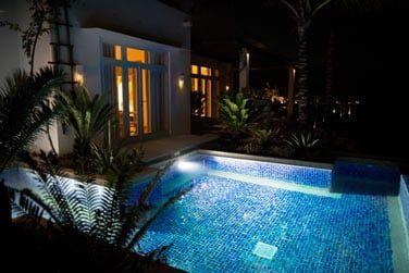 La piscine privative