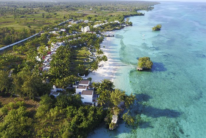 Hôtel Aiyana 5*, Zanzibar