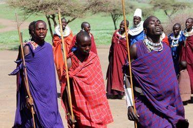 La Tanzanie est également la terre des Massaïs