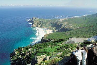 La majestueuse péninsule du Cap de Bonne Espérance