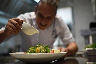 Le Chef vous concocte de délicieux plats mauriciens et internationaux