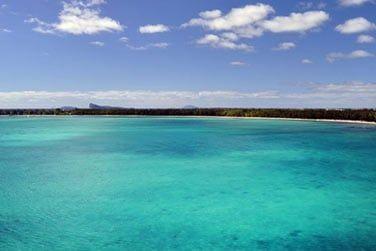 Situé au Nord de l'île Maurice...