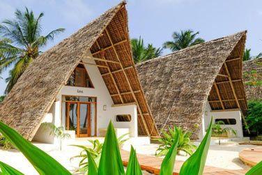 Les chambres sont réparties dans des bungalows
