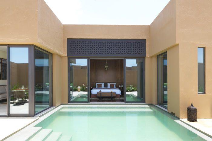 villa 1 chambre vue jardin avec piscine