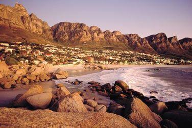 Bienvenue dans la région du Cap en Afrique du Sud !