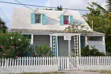 Les maisons au style colonial...