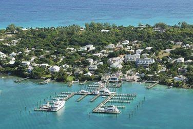 Surnommé le St Barth des Bahamas