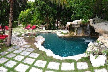 Un cadre charmant, typiquement bahaméen
