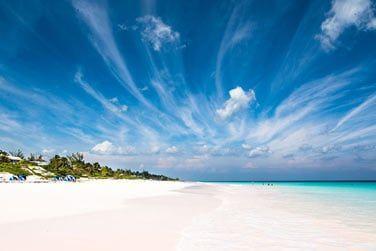 Immenses plages de sable blanc...
